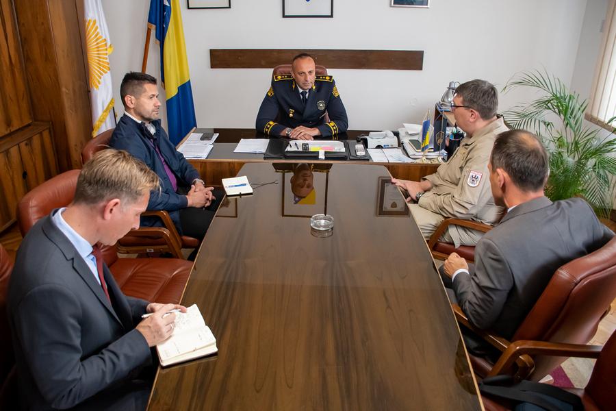 Radna posjeta FUP-u Komandanta EUFOR-a