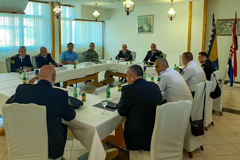 Okončan dvodnevni sastanak Koordinacije direktora FUP-a i komesara/direktora Uprava policija KMUP-ova 16.06.2021. godine
