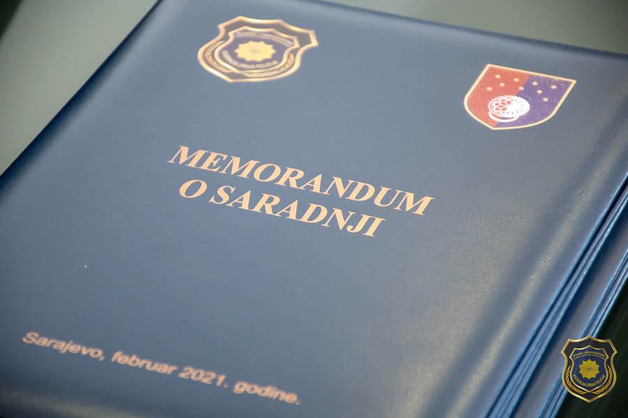Potpisan memorandum o saradnji između Federalna uprave policije i Ureda za borbu protiv korupcije u upravljanje kvalitetom Kantona Sarajevo