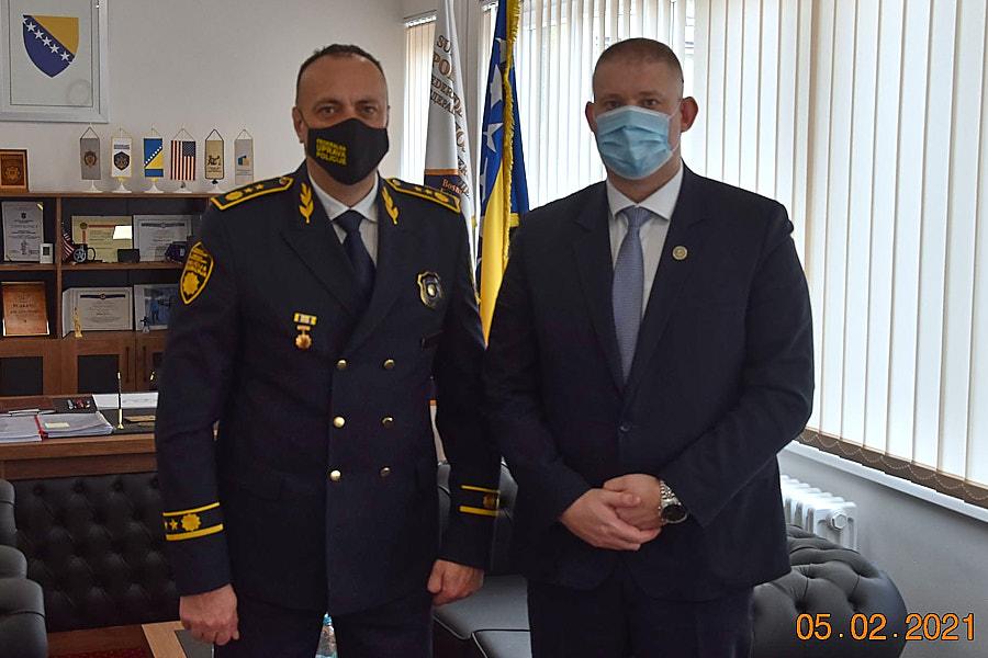 Saradnja Federalne uprave policije i Sudske policije u Federaciji BiH