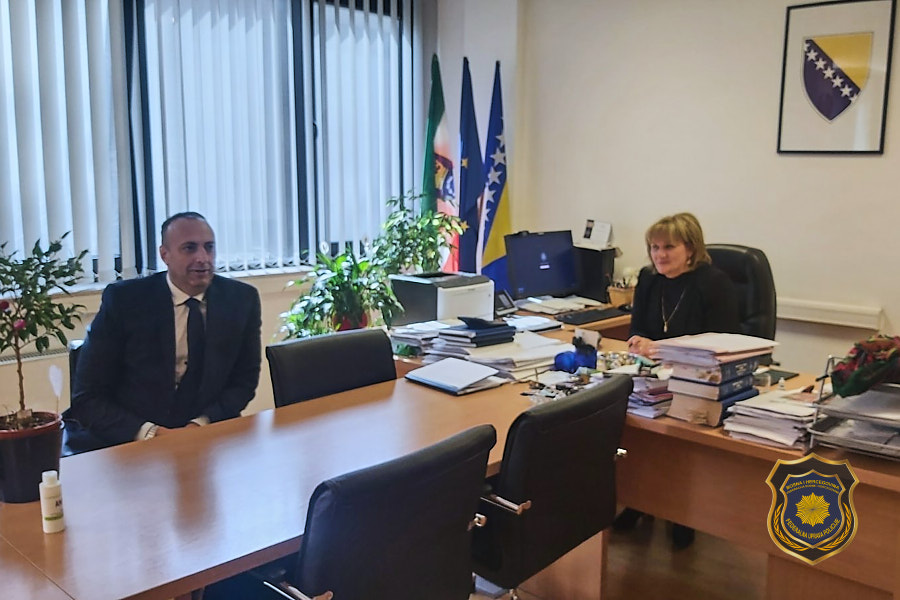 Radna posjeta Kantonalnom tužilaštvu Zeničko-dobojskog kantona u cilju jačanja saradnje