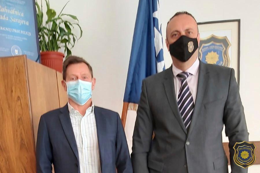 Radna posjeta FUP-u od strane Policijskog atašea Ministarstva unutrašnjih poslova Austrije