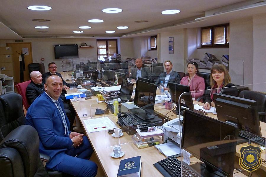 Radna posjeta Kantonalnom tužilaštvu Kantona Sarajevo u cilju jačanja saradnje i intenziviranje rada na predmetima