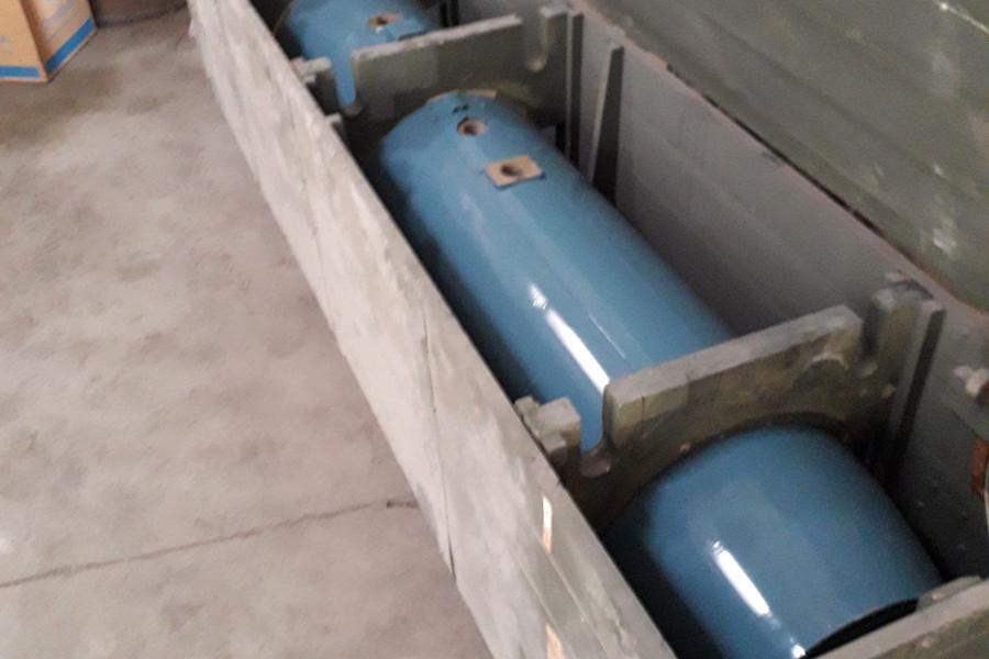 Prilikom pretresa privrednog subjekta, s područja Općine Gruda, pronađena veća količina avio bombi
