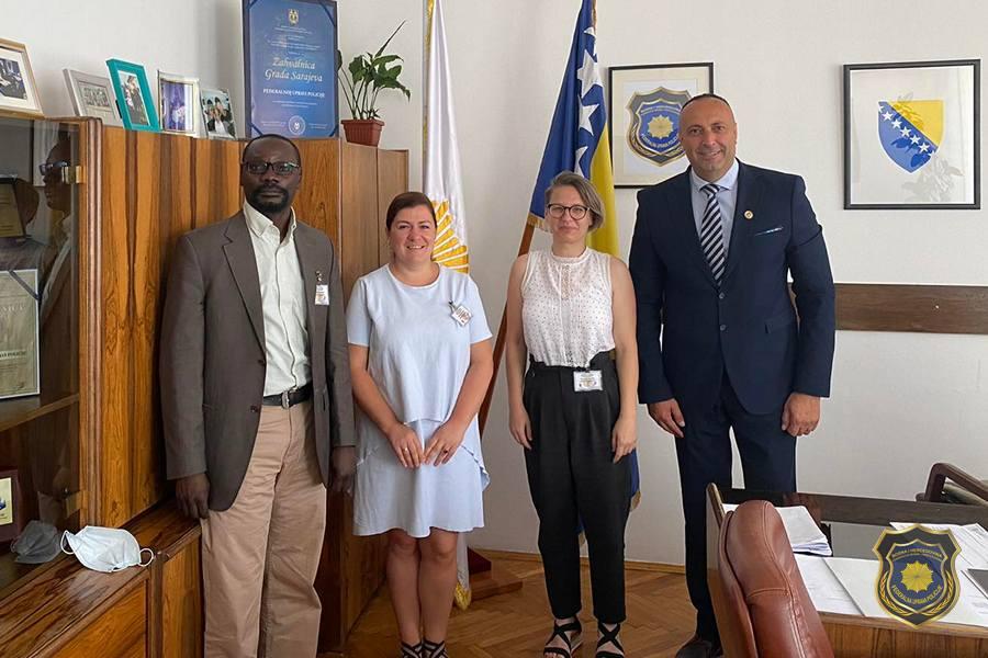 Sastanak sa predstavnicima Njemačke razvojne saradnje (GIZ)