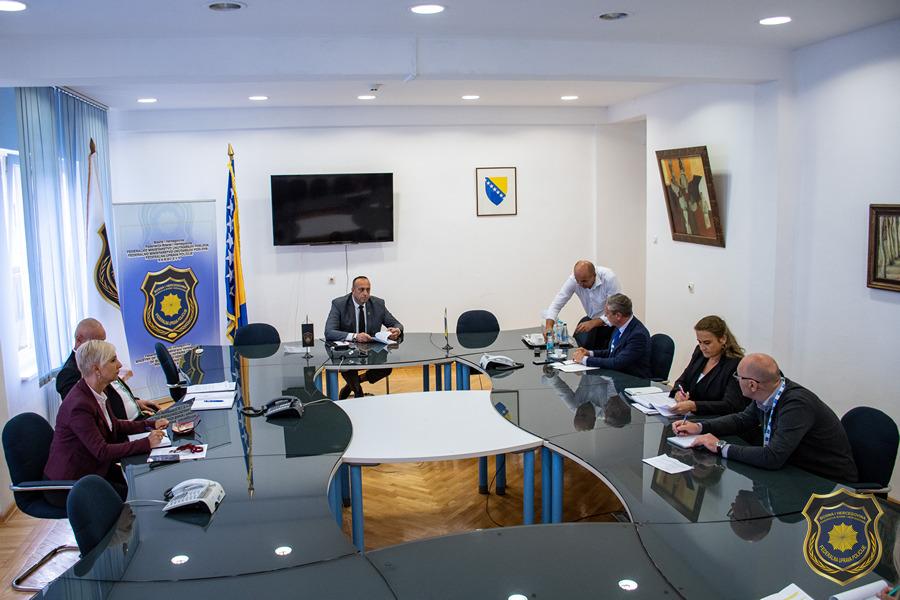 Delegacija Sekretarijata Evropskog komiteta za sprečavanje mučenja i nečovječnog ili ponižavajućeg postupanja ili kažnjavanja (CPT), posjetila Federalnu upravu policije